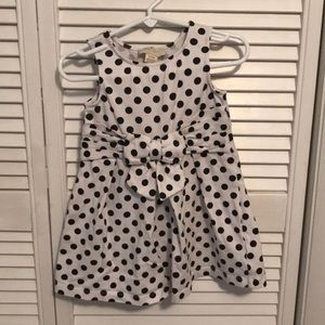 Kate spade polka dot 92/24M dress.